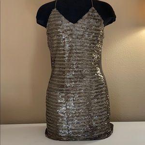 Sequin Mink Dress